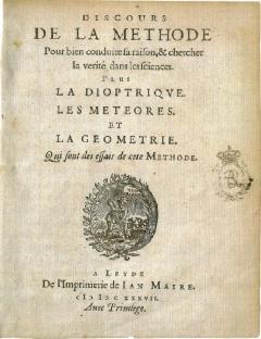 نوسخهی لاتینی كتێبهكهی دیكارت بهناوی Discours de la Methode كه ئهم كاره كاریگهریهكی مهزنی ههموو كه راستهو بووه هۆی پهرهسهندنی كالكولهس لهلایهن نیوهتنهوه.